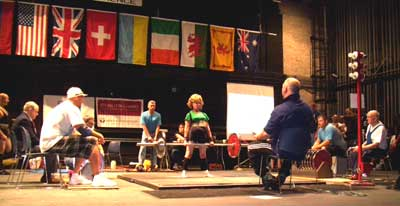 Pat deadlifting a new world record!